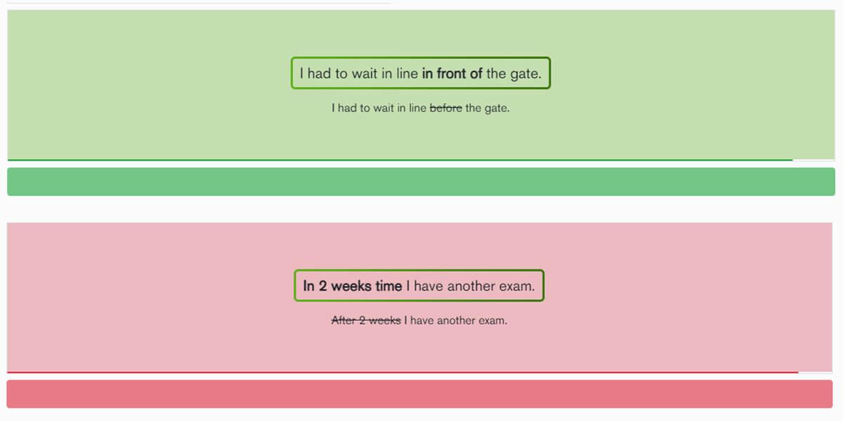 Jogo Grammar rush para revisão