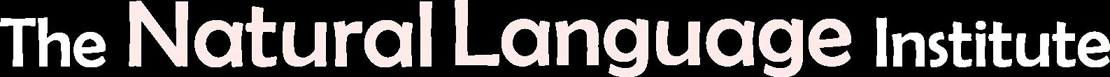 Logo Natural language Institute